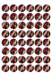 Arizona Cardinals Digital 14mm Circle Images #A16 (instant download)