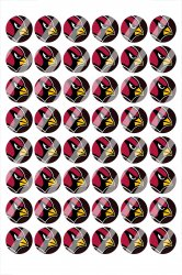 Arizona Cardinals Digital 14mm Circle Images #A18 (instant download)