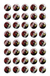 Arizona Cardinals Mini Bottle Cap 1/2 Circle Images Sheet #A13 instant download