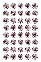 Arizona Cardinals Mini Bottle Cap 1/2 Circle Images Sheet #A17 instant download