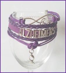 '.Alzheimers Awareness Bracelet.'