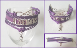 '.Alzheimers Awareness Bracelet.'