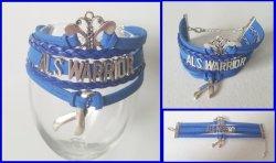 ALS Awareness Infinity Wrap Bracelet
