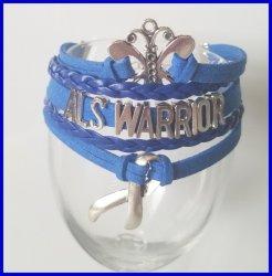 '.ALS Awareness Bracelet.'