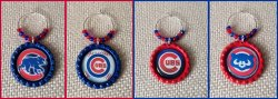 '.Cubs Wine Glass Charms.'