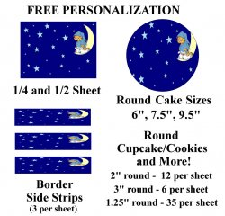 Garfield Edible Image Frosting Sheet #39 (different sizes)