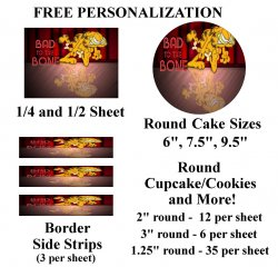 Garfield Edible Image Frosting Sheet #44 (different sizes)
