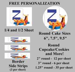 Garfield Edible Image Frosting Sheet #49 (different sizes)