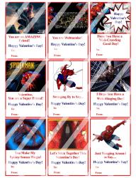 '.Spiderman Valentines #5.'