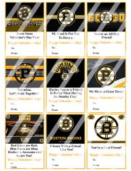 '.Boston Bruins Valentines #1.'