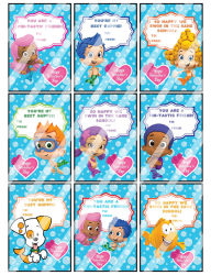 '.Bubble Guppies Valentines #1.'