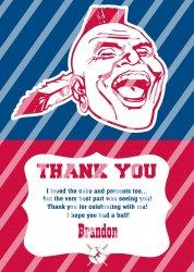'.Regular Thank You Card.'