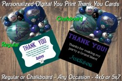 Arizona Diamondbacks Digital Thank You Card #02A (Regular or Chalkboard)