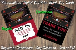 Arizona Diamondbacks Digital Thank You Card #7 (Regular or Chalkboard)