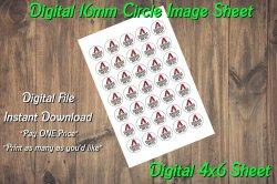 Arizona Diamondbacks Digital 16mm Circle Images Sheet #B4 (instant download)