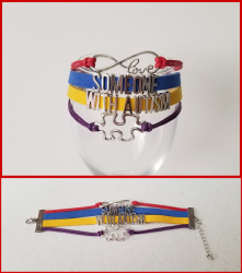 '.Autism Awareness Bracelet.'