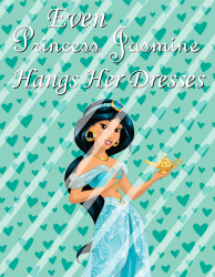 '.Jasmine Princess Sign.'