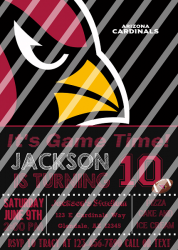 '.AZ Cardinals #1 Invitation.'