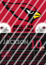 '.AZ Cardinals #2 Invitation.'