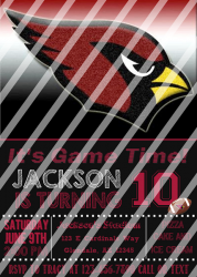 '.AZ Cardinals #10 Invitation.'