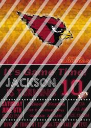 '.AZ Cardinals #12 Invitation.'