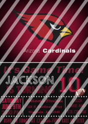 '.AZ Cardinals #14 Invitation.'