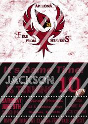 '.AZ Cardinals #15 Invitation.'