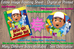 Handy Manny Edible Image Frosting Sheet #8 Cake Cupcake Topper