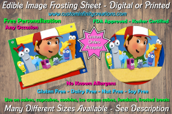 Handy Manny Edible Image Frosting Sheet #12 Cake Cupcake Topper