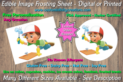 Handy Manny Edible Image Frosting Sheet #3 Cake Cupcake Topper