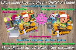 Handy Manny Edible Image Frosting Sheet #6 Cake Cupcake Topper