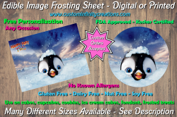 Happy Feet Edible Image Frosting Sheet #16 Cake Cupcake Topper
