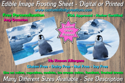 Happy Feet Edible Image Frosting Sheet #27 Cake Cupcake Topper