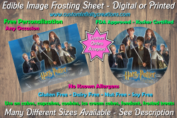 Harry Potter Edible Image Frosting Sheet #51 Cake Cupcake Topper