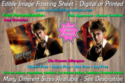 Harry Potter Edible Image Frosting Sheet #35 Cake Cupcake Topper
