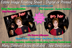 Harry Potter Edible Image Frosting Sheet #12 Cake Cupcake Topper