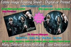 Harry Potter Edible Image Frosting Sheet #19 Cake Cupcake Topper