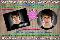Harry Potter Edible Image Frosting Sheet #48 Cake Cupcake Topper