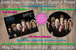 Harry Potter Edible Image Frosting Sheet #38 Cake Cupcake Topper