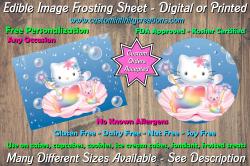Hello Kitty Edible Image Frosting Sheet #20 Cake Cupcake Topper