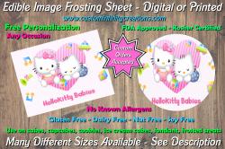 Hello Kitty Edible Image Frosting Sheet #16 Cake Cupcake Topper