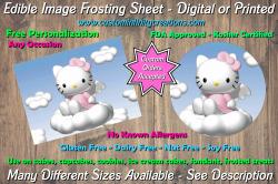 Hello Kitty Edible Image Frosting Sheet #19 Cake Cupcake Topper