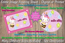 Hello Kitty Edible Image Frosting Sheet #24 Cake Cupcake Topper
