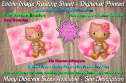 Hello Kitty Edible Image Frosting Sheet #31 Cake Cupcake Topper