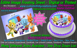 Word Party Edible Image Icing Frosting Sheet #5 Cake Cupcake Cookie Topper