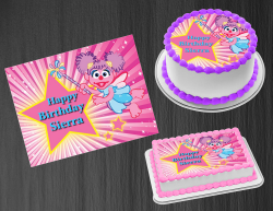 Abby Cadabby Edible Image Icing Frosting Sheet #31 Cake Cupcake Cookie Topper