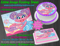 Abby Cadabby Edible Image Icing Frosting Sheet #1 Cake Cupcake Cookie Topper