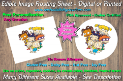 Rugrats Edible Image Frosting Sheet #6 Cake Cupcake Topper