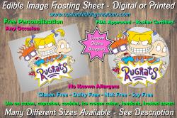 Rugrats Edible Image Frosting Sheet #7 Cake Cupcake Topper