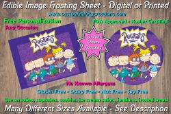 Rugrats Edible Image Frosting Sheet #8 Cake Cupcake Topper